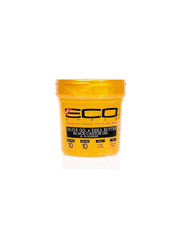Gel Eco Styler Gold - Olive oil & Shea Butter & Black Castor Oil & Flaxseed