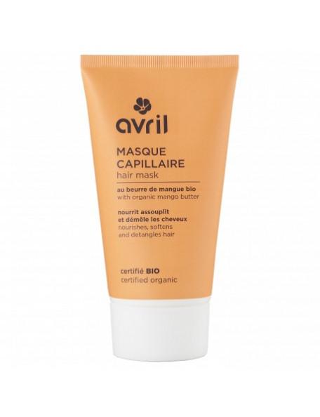Masque capillaire bio beurre de mangue - Avril Beauté