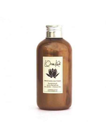 Shampoing henné extra nourrissant - Loren Kadi