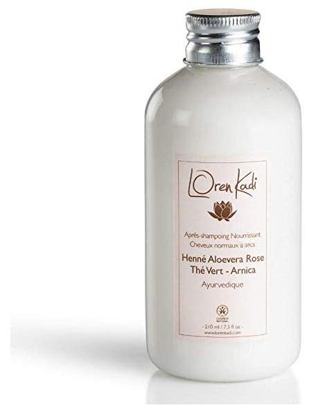 Après-shampoing à l'aloe vera rose - Loren Kadi