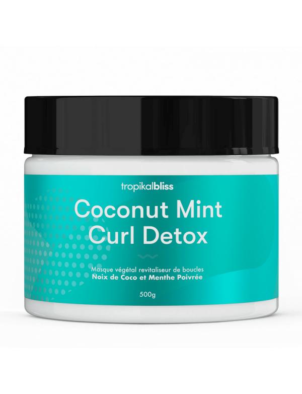 Curls detox - masque détox coco menthe