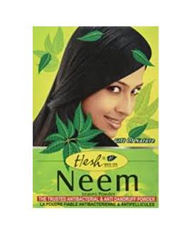 Poudre indienne de neem - antipelliculaire - Hesh