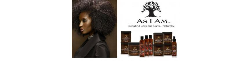 As I Am - Soins pour cheveux naturels afro/crépus/frisés