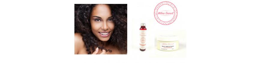 Wilna Sainvil Cosmétique - Soins naturels pour cheveux crépus/frisés