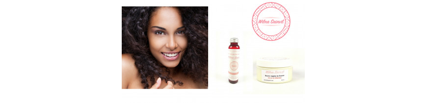 Wilna Sainvil Cosmétique - Soins & huiles naturels - Curls Essentielle