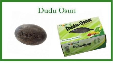 Dudu osun savon noir africain
