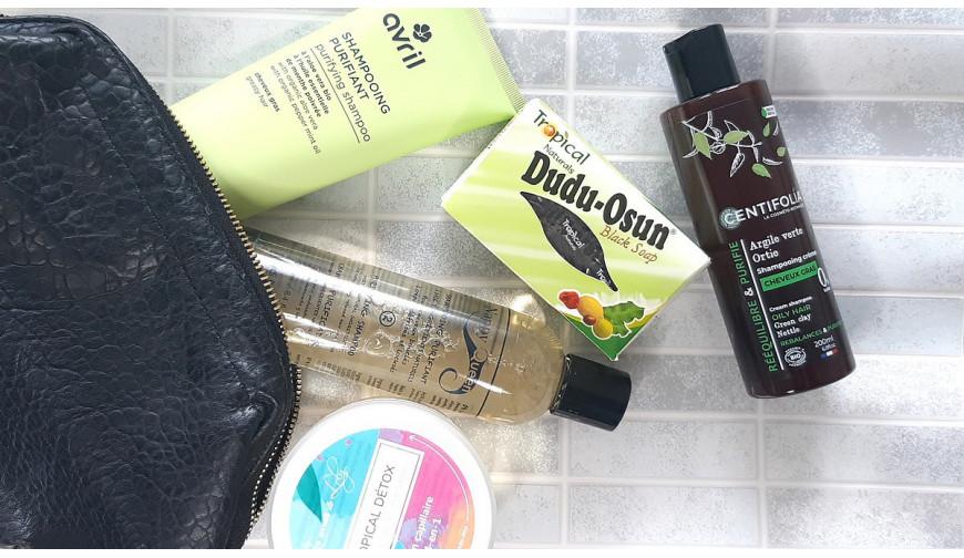 Nos meilleurs shampoings détox ou clarifiant